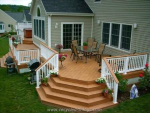 Wonderful Backyard Deck Ideas