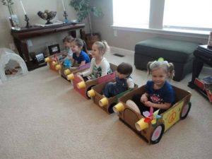 Cardboard Cars for Kids
