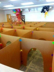 Cardboard Game for Kids