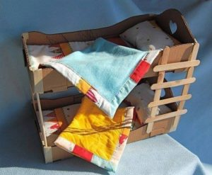 Cardboard Kids Bed