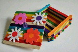 Cute Ice Cream Sticks Craft