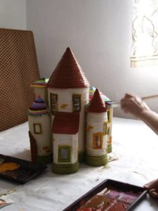 Doll House Painting