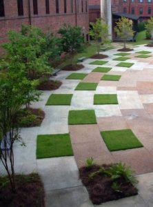 Garden Grass Patterns