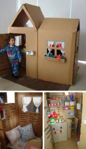 Kids Cardboard House