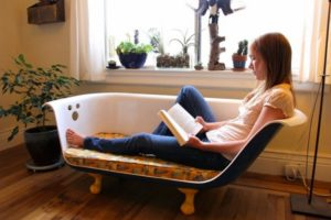 Old Bathtub Couch