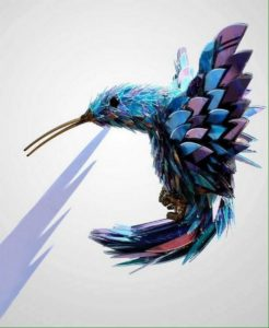 Old CDs Recycled Birds