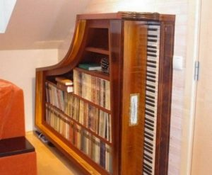 Old Piano Repurposed