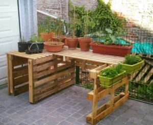 Pallet Garden Decor Ideas