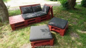 Pallet Patio Garden Furniture