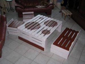 Pallet Wood Furniture Set