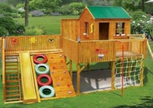 Pallet Wooden Playhouse
