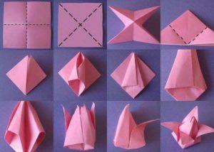 Paper Folding Flower Makeover