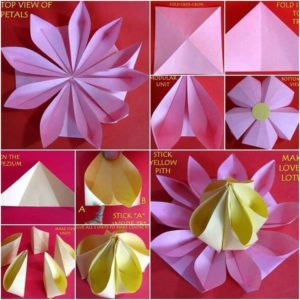 Paper Folding into Tree
