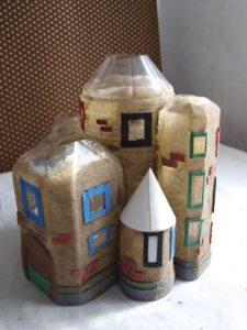 Plastic Bottles Doll House
