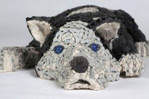Recycled Bicycle Parts Dog