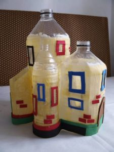 Repurposed Plastic Bottles