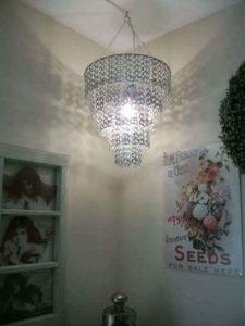 Soda Pop Tab Chandelier
