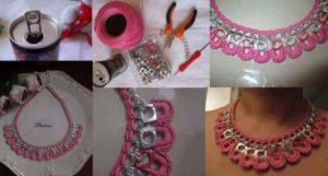 Soda Pop Tab Necklace DIY