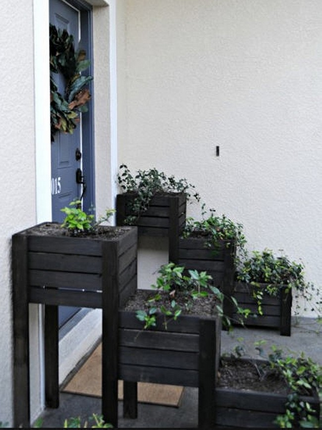 Wooden Pallet Planters