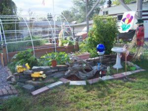 Driftwood Garden Art