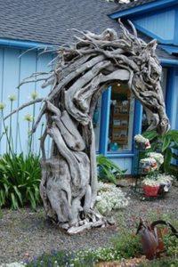 Driftwood Garden Sculpture