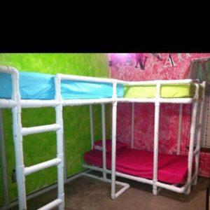 PVC Pipe Loft Beds