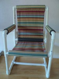 PVC Pipe Recycled Chair