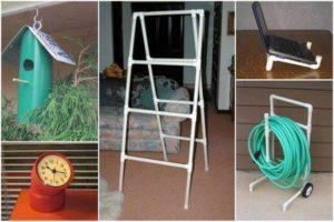 PVC Pipe Recycling Ideas