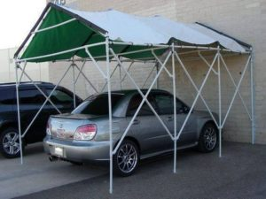 PVC Pipes Recycled Car Parking