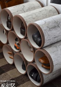 PVC Pipes Storage Ideas