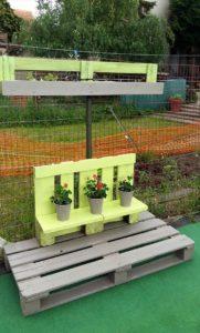 Pallet Planter Shelf