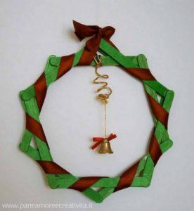 Popsicle Sticks Wreath