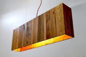 Wood Pallet Lamp