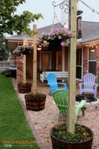 Cheap Backyard Decor Idea