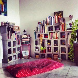 Cinder Blocks Bookshelf