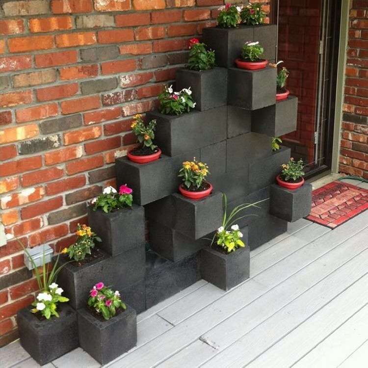 Cinder Blocks Home Decor Ideas