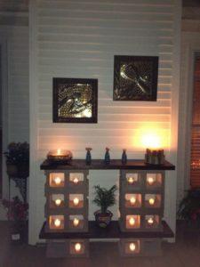 Cinder Blocks for Home Decor