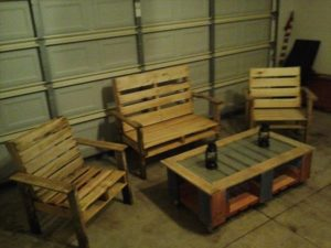 Pallet Furniture Idea