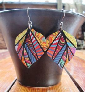 Recycled Jewelry Earrings
