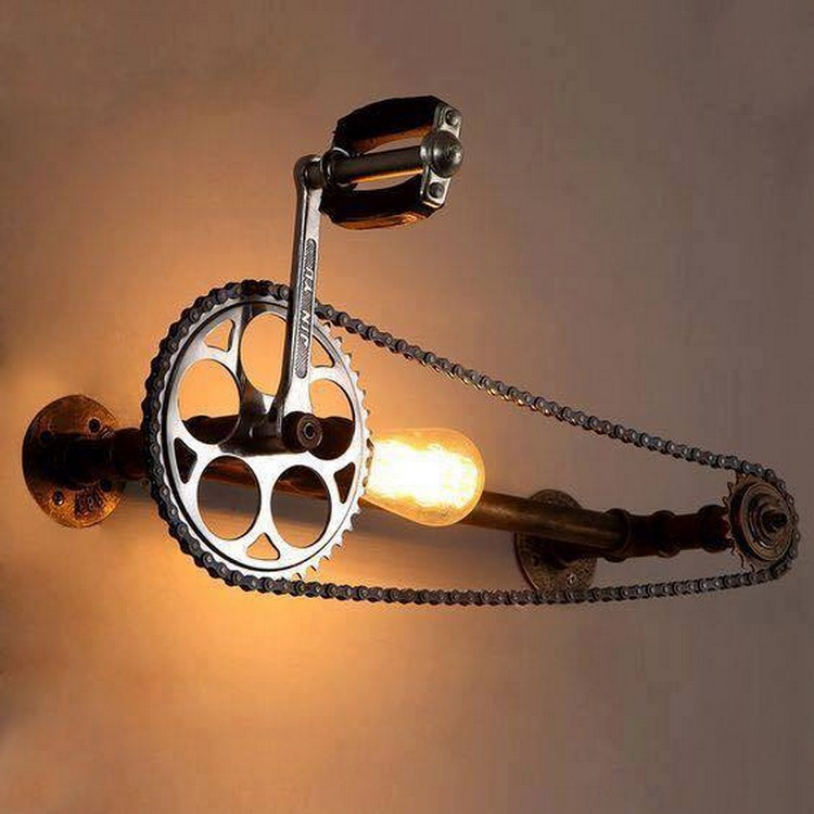 Recycling Ideas for Old Bicycle Parts