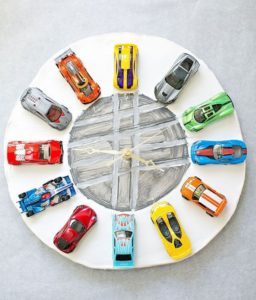 Clay Car Clock