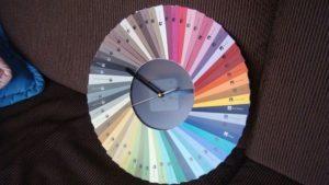 Color Sample Clock