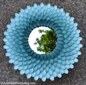 Decorative Chrysanthemum Mirror