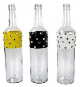 Enameled and Jeweled Bottles