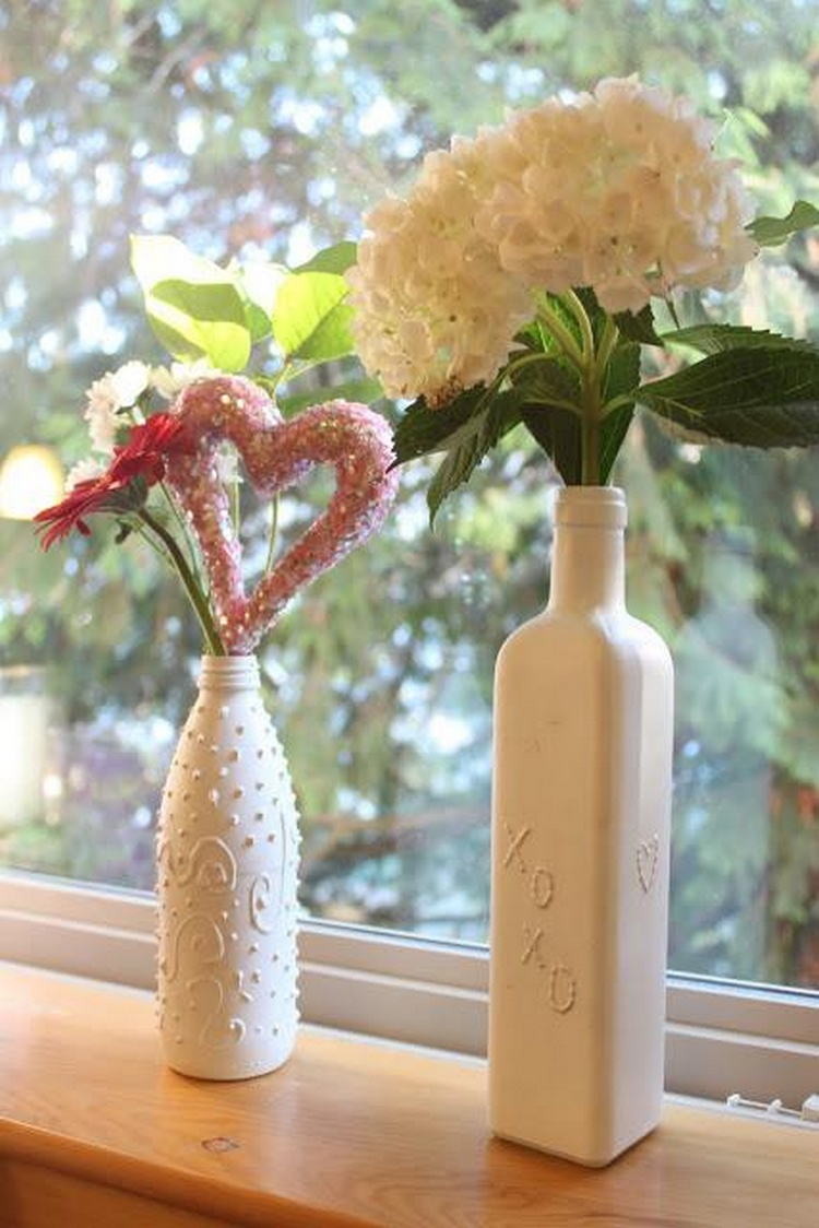 Glass Bottle Vintage Vase