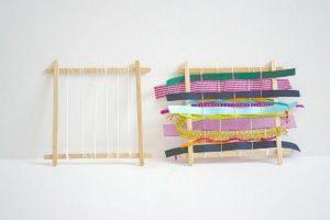 Homemade Popsicle Stick Loom