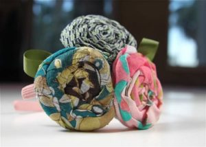 No Sew Fabric Flower Headband