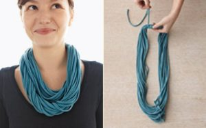 Recycled T-Shirt Necklace