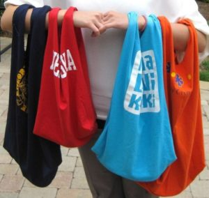 Recycled T-Shirt Tote Bag