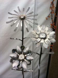 Silverware Flowers